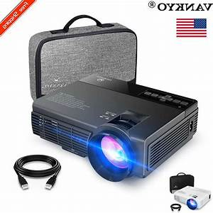 Vankyo Leisure 3 2400 Lux Mini Projector 1080p