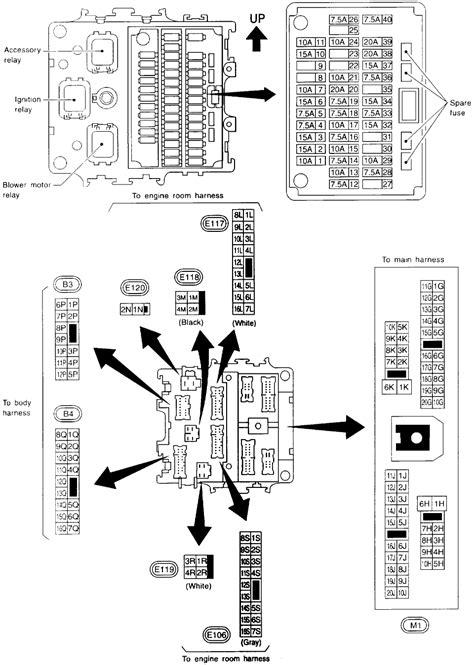 find  fuse diagram    nissan maxima gle
