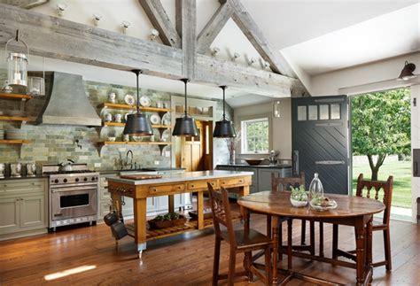 rolling kitchen island ideas farmhouse style house vermont modern farmhouse thraam