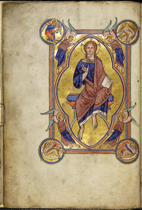 bestiary aberdeen christ majesty 4v folio