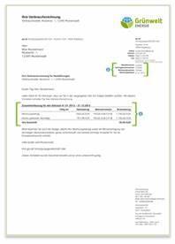 Grünwelt Rechnung : strom und gas g nstig und kologisch produziert kostrom kogaslieferant ~ Themetempest.com Abrechnung