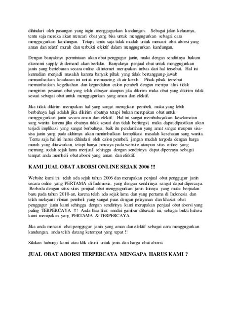 Obat Penggugur Kandungan Murah Jual Obat Aborsi Jakarta 288a594d Call 082243627277