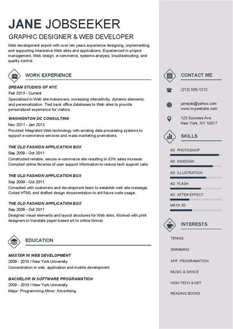 resume templates  buy resume template instant