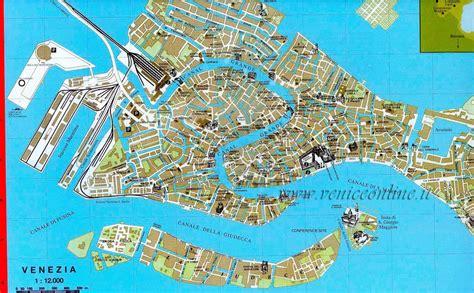 map  venice italy
