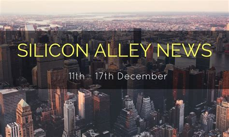 york silicon alley news weekly   december techjini