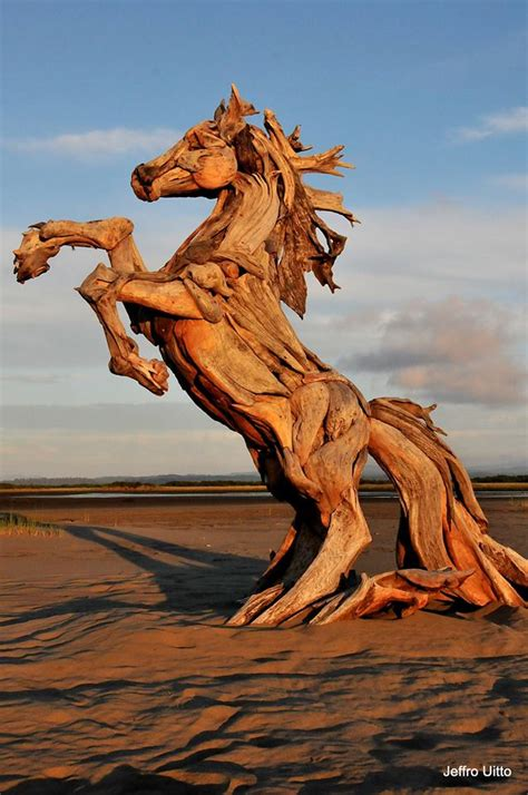 incredible driftwood sculptures  jeff uitto