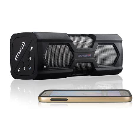 bluetooth lautsprecher stereo expower 174 stereo bluetooth lautsprecher mit nfc und freisprecheinrichtung produkttest24