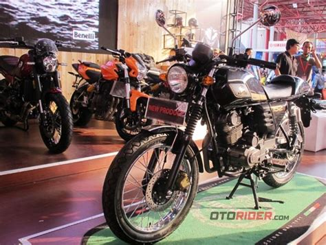 Motobi 152 Image by Benelli Kenalkan Motobi 152 Di Indonesia Inilah Besaran