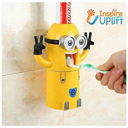 Banana Toothbrush Toothpaste Dispenser Cup Inspireuplift Christmas