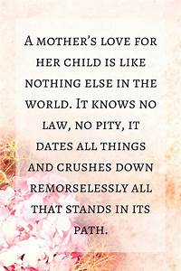 A Mothers Love Quotes | QUOTES OF THE DAY