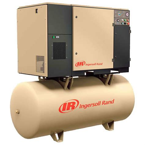 ingersoll rand 7 5 hp 80 gallon rotary air compressor ebay