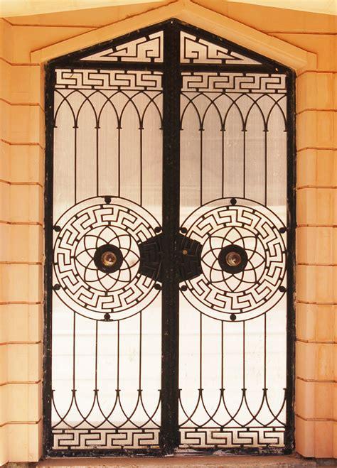 porte fer forge moderne entree maison exterieur tunisie maison moderne