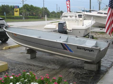 Sea Nymph Aluminum Jon Boats by 1989 Sea Nymph Boats For Sale