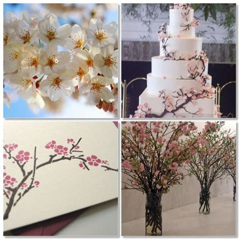 cherry blossom wedding theme Cherry Blossom Wedding