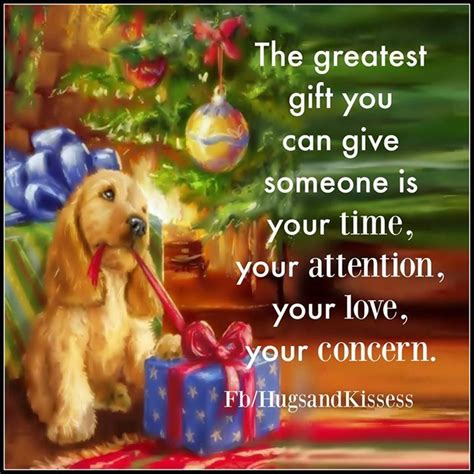 cards of concern during christmas the greatest gift you can give someone is your time and concern
