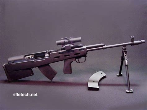 Sks, 7.62x39, With Rifletech Bullpup Kit