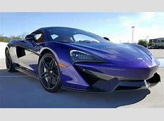 Lantana Purple 2017 McLaren 570S For Sale