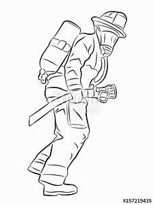 Fireman Drawing At Getdrawingscom Free For Personal Use