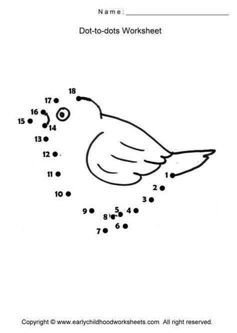 preschool bird math worksheets free printable