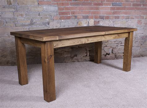 Solid Wood Dining Table By H&f