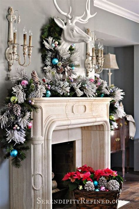 awesome christmas mantel decoration ideas