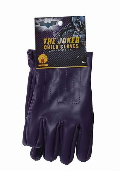 Joker Gloves Purple Child Knight Dark Costume