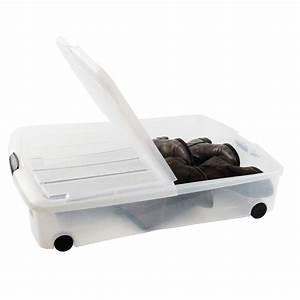 Rangement Sous Le Lit : caisse rangement sous lit ikea ~ Farleysfitness.com Idées de Décoration