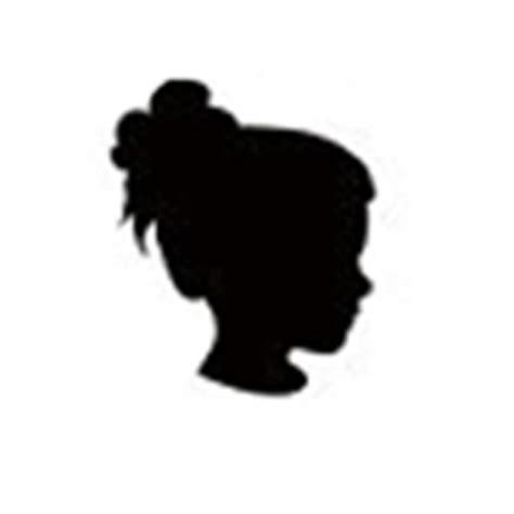 Messy bun silhouette at getdrawings   free download. Messy Bun Silhouette at GetDrawings   Free download