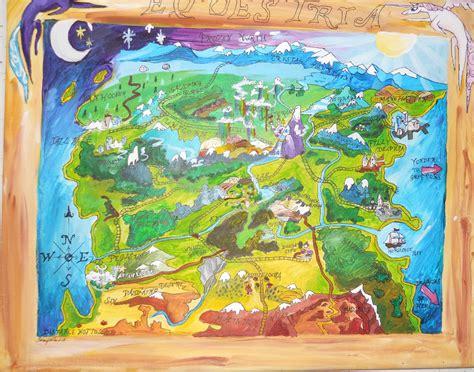 map  equestria  lemonscientist  deviantart