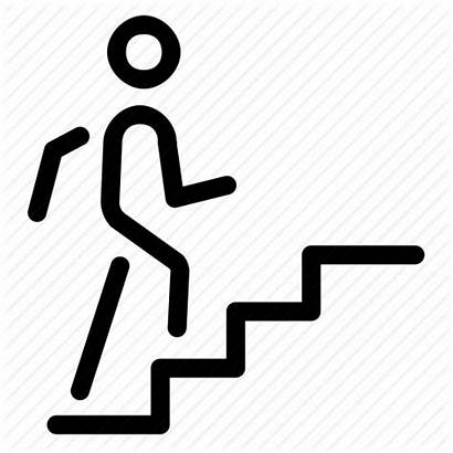 Step Icon Icons Steps Upstairs Direction Signs