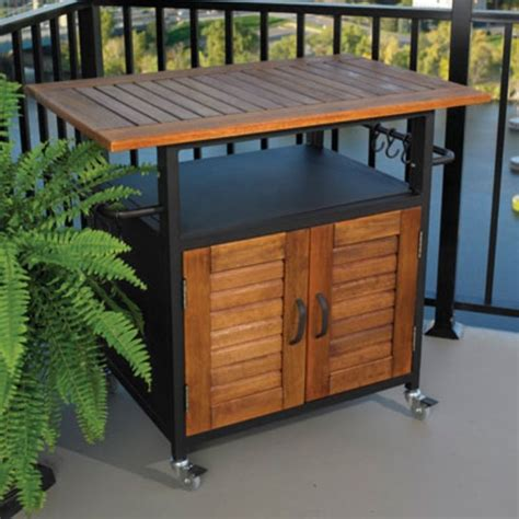 grill side table outdoor outdoor furniture cabinet grill for outdoor side table
