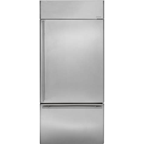 zicsnhrh ge monogram  built  bottom freezer refrigerator