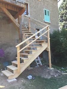 """escalier Menuiserie """"Le bois des huiles"""" : C Guillard"""