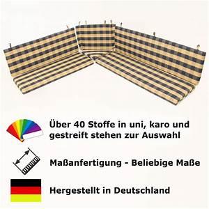 Eckbank Auflagen Set : 6 teiliger set eckbank auflagen auf ma wunsch stoff ~ Michelbontemps.com Haus und Dekorationen