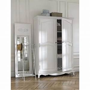 Dressing Maison Du Monde : dressing en paulownia blanc jos phine maisons du monde ~ Nature-et-papiers.com Idées de Décoration