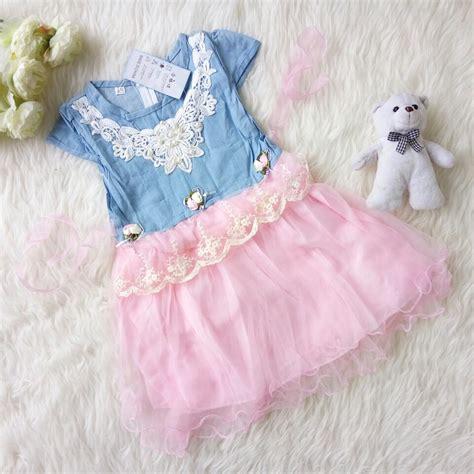 Wk100556 Baju Import jual dress import anak baju anak import dress denim