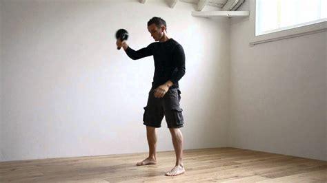kettlebell swing clean technique