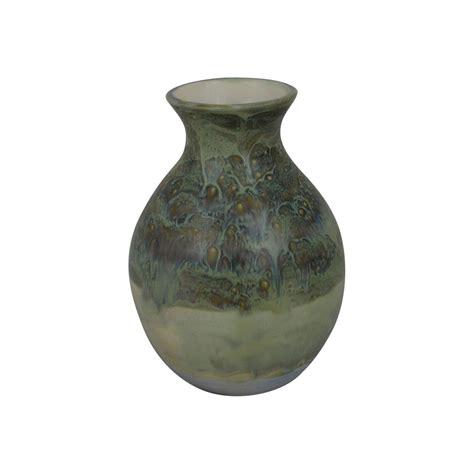 burslem pottery stoneware high fired glazed  vase