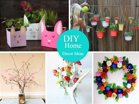 Diy Home Decor Projects And Ideas: 12 Very Easy And Cheap DIY Home Decor Ideas