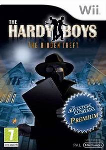 Covers & Box Art: The Hardy Boys: Hidden Theft - Wii (1 of 1)