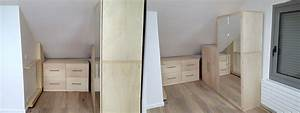 Commode Sous Pente : les queues d 39 arondes ensemble de 3 meubles pour dressing ~ Edinachiropracticcenter.com Idées de Décoration