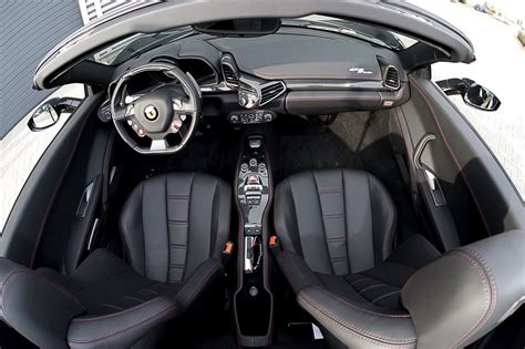 458 Spider Interior by Black Widow Treatment For 458 Italia Spider