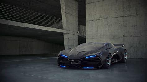 wallpaper lada raven concept supercar sports car