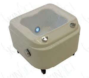 pedicure bowls on wheels portable foot spa with jet and