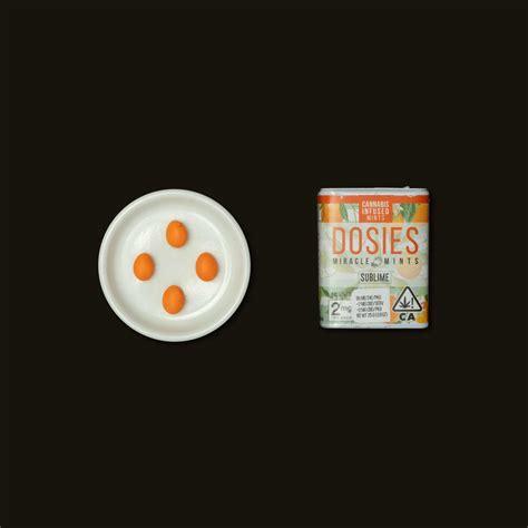 Dosies Orange Miracle Mints (69) - Sublime   Proper