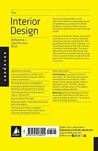 The interior design reference specification book for Interior design order online