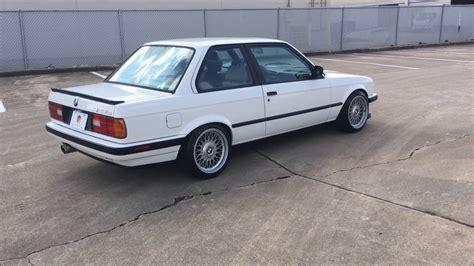 1989 bmw e30 325i for sale by collectors auto in houston