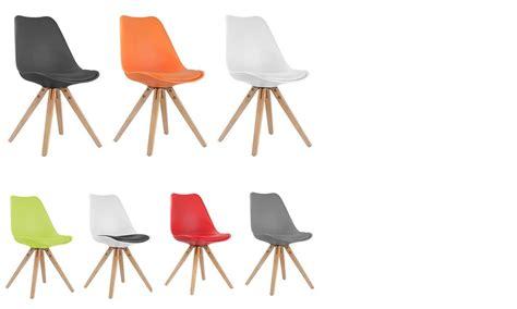 table extensible de style scandinave chaise de salle à manger design daven style scandinave lot de 4