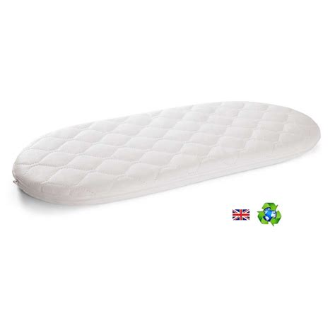 moses basket mattress preciouslittleone non allergenic eco fibre quilted moses