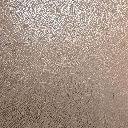 Rose Gold Metallic Foil Silver Arthouse Vinyl